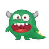 Monster Dragon Royalty Free Stock Photography