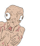 Monster draw Royalty Free Stock Images