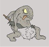 Monster draw Stock Photo