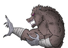 Monster draw Royalty Free Stock Photos