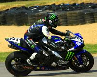 Monster-Energie-Motorrad Stockfoto