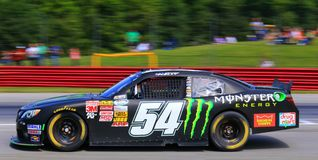 Monster-Energie NASCAR Lizenzfreies Stockfoto