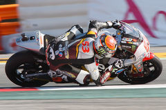 Monster Energy Grand Prix of Catalunya MotoGP. Driver Esteve Rabat. Moto2 Royalty Free Stock Photography
