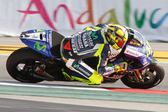 Monster Energy Grand Prix of Catalunya MotoGP. Driver Valentino Rosi. Yamaya Team. MotoGP Royalty Free Stock Image