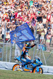 Monster Energy Grand Prix of Catalunya MotoGP. Winner moto3 Alex Marquez. Estrella Galicia Team Royalty Free Stock Photography