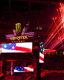 Monster Energy Supercross Opening Ceremony. In Atlanta 2015 Royalty Free Stock Photography