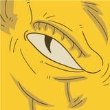Monster eye Royalty Free Stock Images