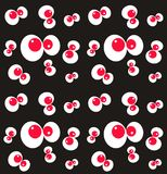 monster eye pattern seamless royalty free stock photo