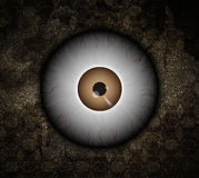 Monster eyeball Stock Images