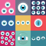 Monster eyes Royalty Free Stock Photography
