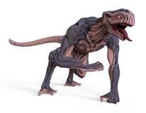 monster för illustration 3D Arkivbilder