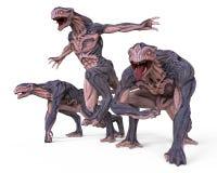 monster för illustration 3D Arkivfoto