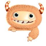 monster för tecknad film 3d Arkivfoto