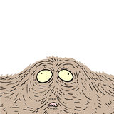 Monster face Royalty Free Stock Images
