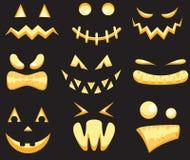 Monster faces Stock Photos