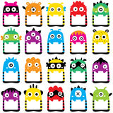 Monster frames clip art set Stock Photography