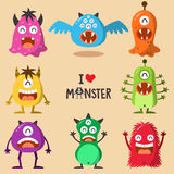 Monster Funny Royalty Free Stock Photo