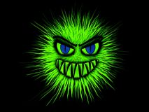 Monster, Green, Evil, Common Royalty Free Stock Images