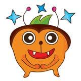 Monster happy royalty free illustration