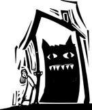 Monster-Haus Lizenzfreie Stockfotos