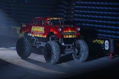 Monster-heiße Räder Stockbild