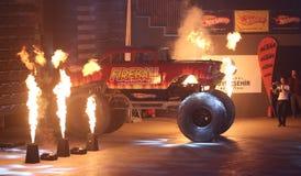 Monster-heiße Räder Stockfotografie