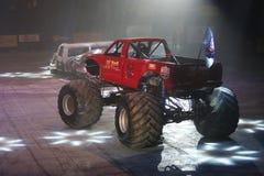 Monster-heiße Räder Stockfoto