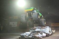 Monster-heiße Räder Stockfotos