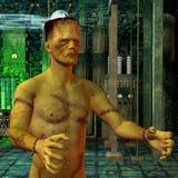 Monster in het laboratorium Stock Fotografie