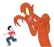Monster illustration Stock Image