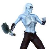 Monster. Image of a monster on white stock illustration