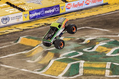Monster Jam Truck Jumping High Royalty Free Stock Images