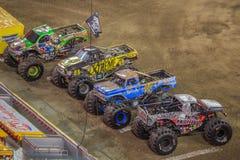 Monster Jam Trucks Stock Images