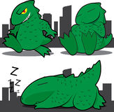 Monster Lizard Royalty Free Stock Image