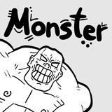 Monster man Royalty Free Stock Images