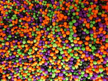 Monster mash sprinkles. Cupcake sprinkles halloween stock photos