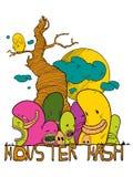 Monster mash vector illustration