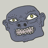 Monster mask Stock Images
