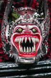 Monster mask in carnival of Bayaguana Stock Image
