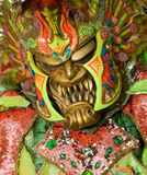 Monster mask in carnival of Santo Domingo Stock Images