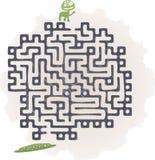 Monster maze Royalty Free Stock Photo