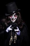 Monster med skelettet Fotografering för Bildbyråer
