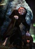 Monster monk Stock Image