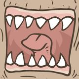 Monster mouth Royalty Free Stock Photos