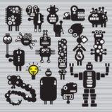 Monster- och robotsamling #16. Arkivfoton