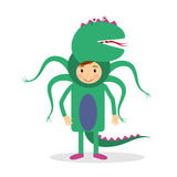 Monster party costume Stock Photo