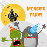 Monster Party Stock Image