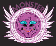 Monster party Stock Images