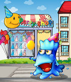 A monster from the party shop Royalty Free Stock Photo
