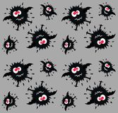 monster pattern seamless Stock Image